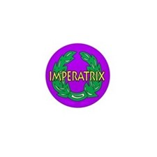 Imperatrix (purple) Mini Button