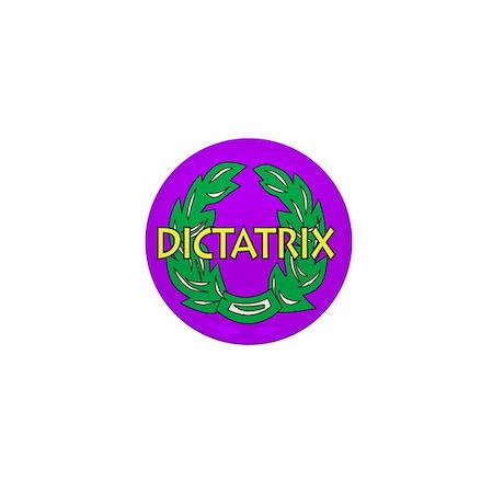 Dictatrix (purple) Mini Button (100 pack)