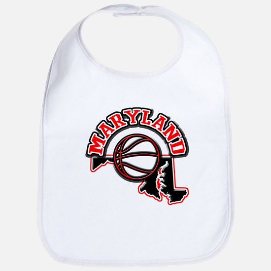 Maryland Basketball Bib