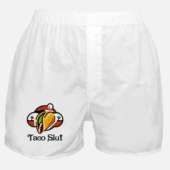 Taco Slut Boxer Shorts