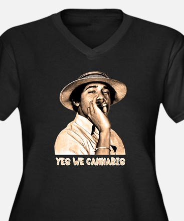 Barack Obama: YES WE CANNABIS - Women's Plus Size