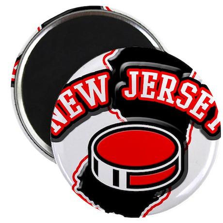 New Jersey Hockey Magnet