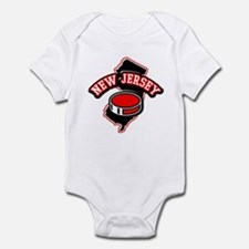 New Jersey Hockey Infant Bodysuit
