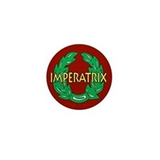 Imperatrix (red) Mini Button