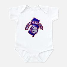 New Jersey Basketball Infant Bodysuit