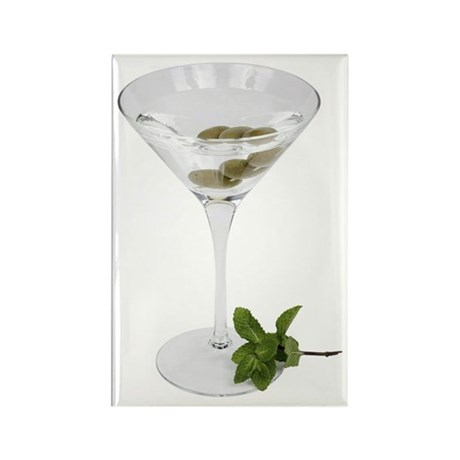 A Martini On Your Rectangle Magnet (100 pack)