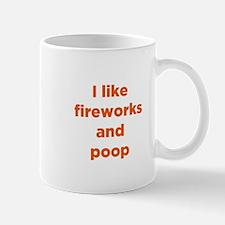 Fireworks & Poop Mug