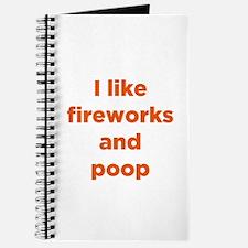 Fireworks & Poop Journal