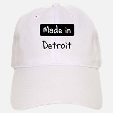 Made in Detroit Baseball Baseball Cap