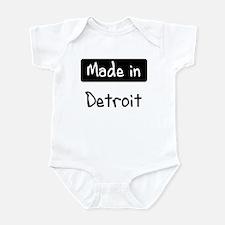 Made in Detroit Infant Bodysuit
