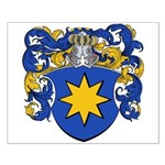 DeVry Family Crest Small Poster