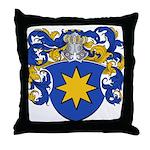 DeVry Family Crest Throw Pillow