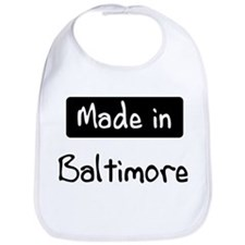 Made in Baltimore Bib