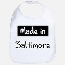 Made in Baltimore Bib