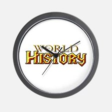 World of History Wall Clock