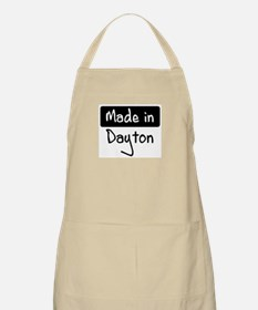 Made in Dayton BBQ Apron