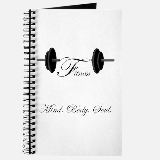 Cute Body mind soul Journal