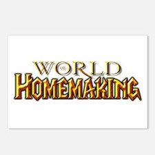 World of Homemaking Postcards (Package of 8)