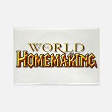 World of Homemaking Rectangle Magnet