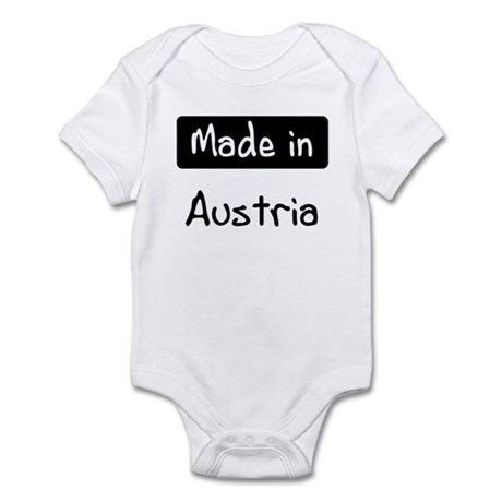 Made in Austria Infant Bodysuit