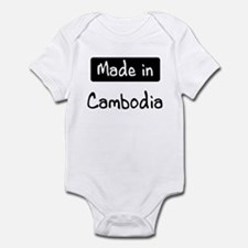 Made in Cambodia Infant Bodysuit