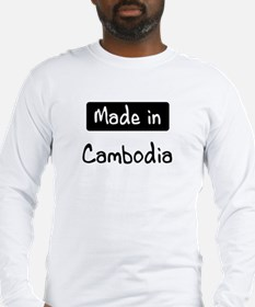 Made in Cambodia Long Sleeve T-Shirt