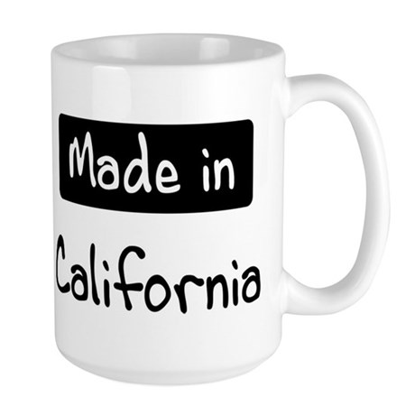 Made in California Large Mug