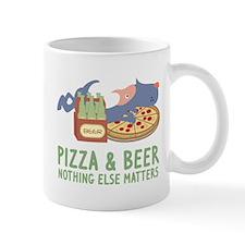 Pizza & Beer Mug