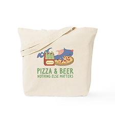Pizza & Beer Tote Bag