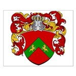 Dykstra Family Crest Small Poster