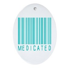 Medicated Oval Ornament