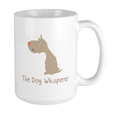 The Dog Whisperer Large Mug