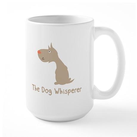 The Dog Whisperer Large Mug