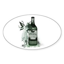 The Green Fairy Oval Decal