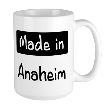 Made in Anaheim Large Mug