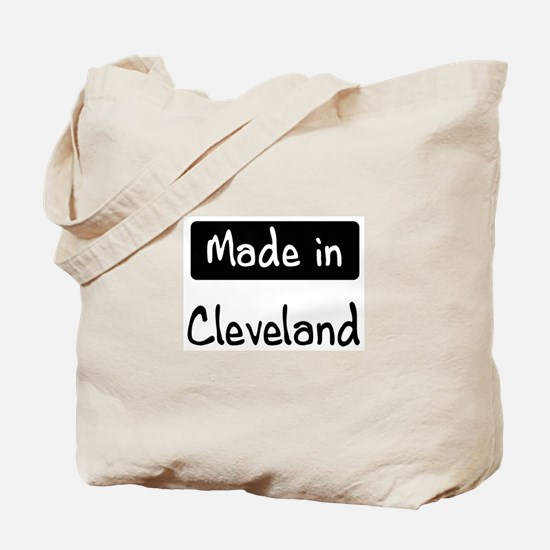 Made in Cleveland Tote Bag