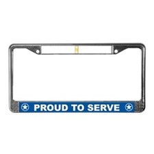 Cute Military ribbon License Plate Frame
