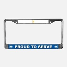 Cute Air medal License Plate Frame