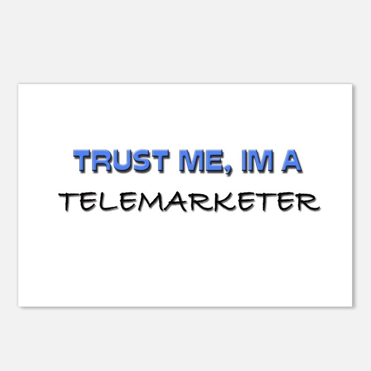 Trust Me I'm a Telemarketer Postcards (Package of