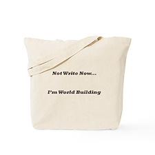 I'm World-Building Tote Bag