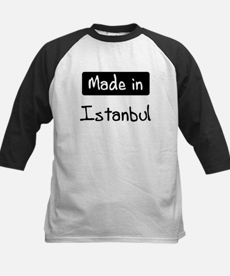 Made in Istanbul Kids Baseball Jersey