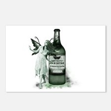The Green Fairy Postcards (Package of 8)