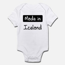 Made in Iceland Onesie