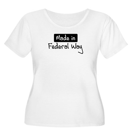 Made in Federal Way Women's Plus Size Scoop Neck T