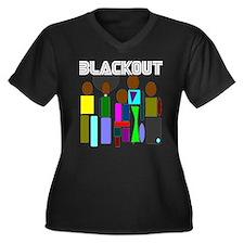 Cool Chicago comedy Women's Plus Size V-Neck Dark T-Shirt