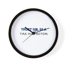 Trust Me I'm a Tax Inspector Wall Clock