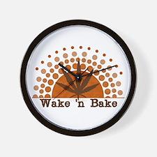 Riyah-Li Designs Wake 'n Bake Wall Clock