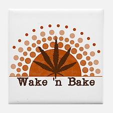 Riyah-Li Designs Wake 'n Bake Tile Coaster