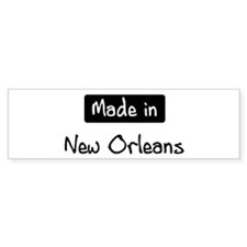 Made in New Orleans Bumper Sticker (50 pk)