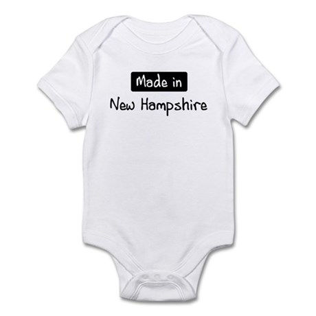 Made in New Hampshire Infant Bodysuit